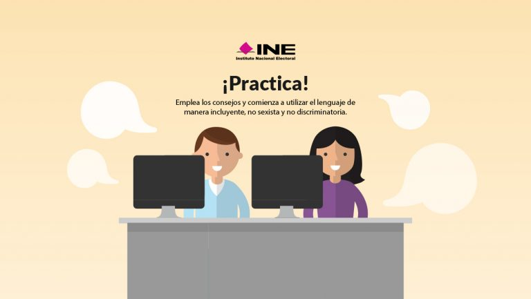 INE - Lenguaje incluyente
