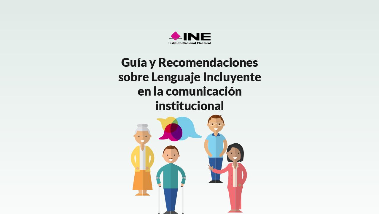 lenguaje incluyente INE